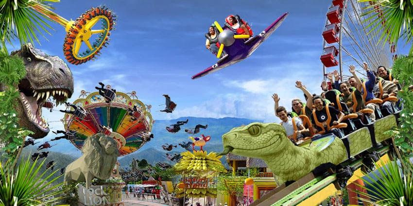 Jungleland Sentul, Taman Hiburan Penuh Petualangan