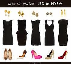 Tips Membuat Litle Black Dress Lebih Menawan