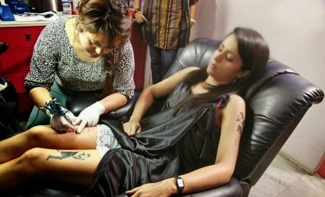 Trisha Hot Tattoo Photos | Tattoo leaked stills