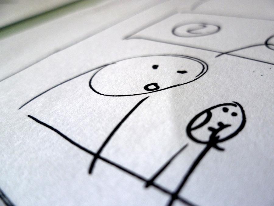 Diario deformato la simmetria del tavolo da disegno - Il tavolo da disegno ...