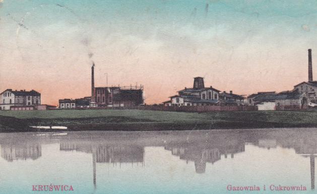 Gazownia w Kruszwicy 1905 r.