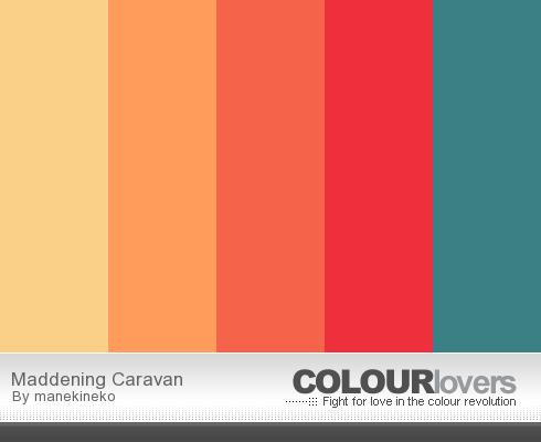 Juice of ideas paletas de colores infinitas - Gamas de colores azules ...