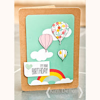 Hot Air Balloons card