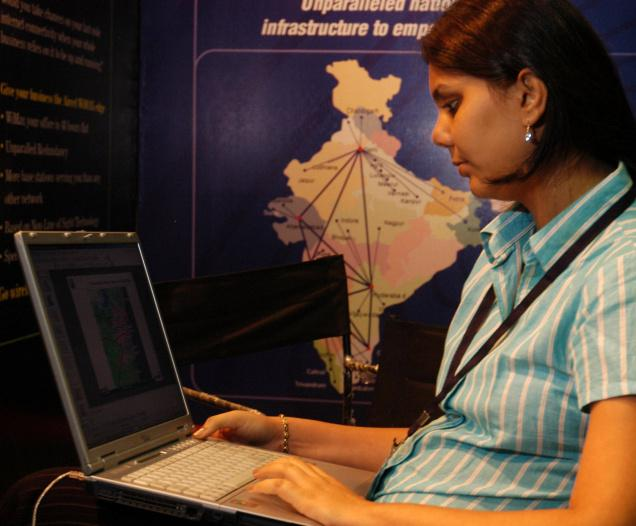 India is the third largest Internet user after China and US