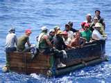 "Cuban fleeing from Castro's ""paradise'"
