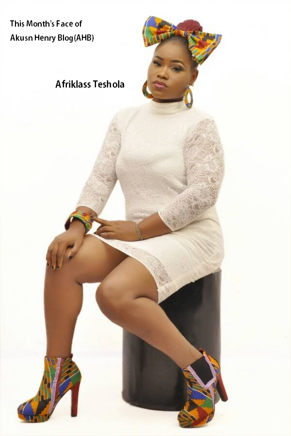 This month face of akusonhenryblog (AHB)