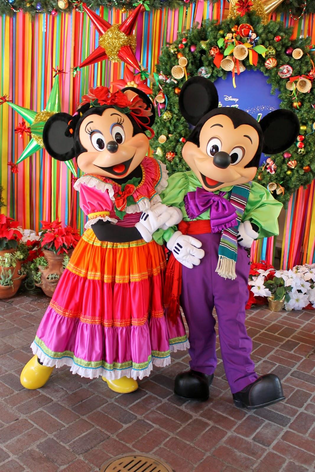 imagenes de minnie mouse en navidad
