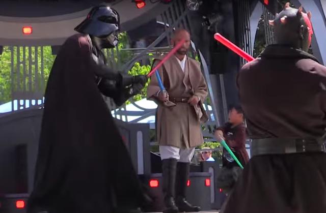Kleiner Padawan sorgt für Wirbel in der Jedi Trainings Academy