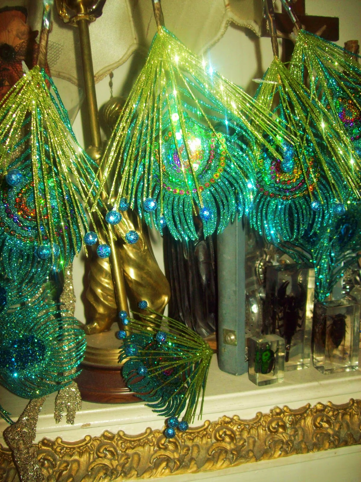 Bohemian Valhalla It Will Be A Peacocks And Mardi Gras Tree