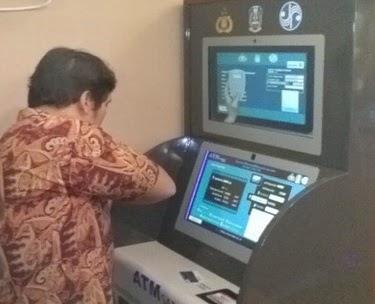 Cara bayar pajak kendaraan bermotor lewat ATM