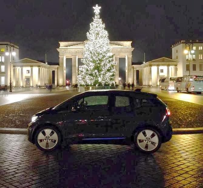 The Electric BMW I3: December 2013