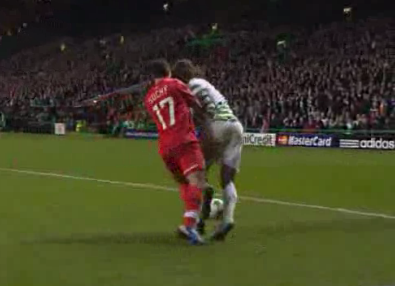 Penalty inventado no Celtic - Spartak Moscovo