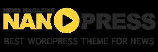 Nanopress - News magazine Blogger Template