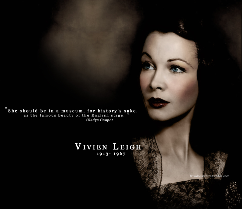 Morte de Vivien  Relato de Jack MerivaleVivien Leigh Wallpaper