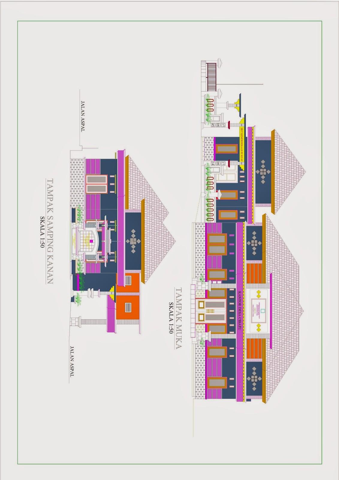 desain rumah ideal type minimalis rancang griya