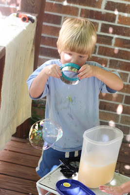 IMG 5287 Invent Your Own Bubble Wands from Kitchen Tools