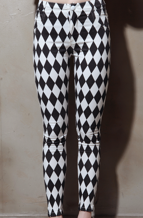 Checkerboard Pants