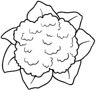 imagens para colorir de verduras - Desenhos para Colorir Legumes e Verduras