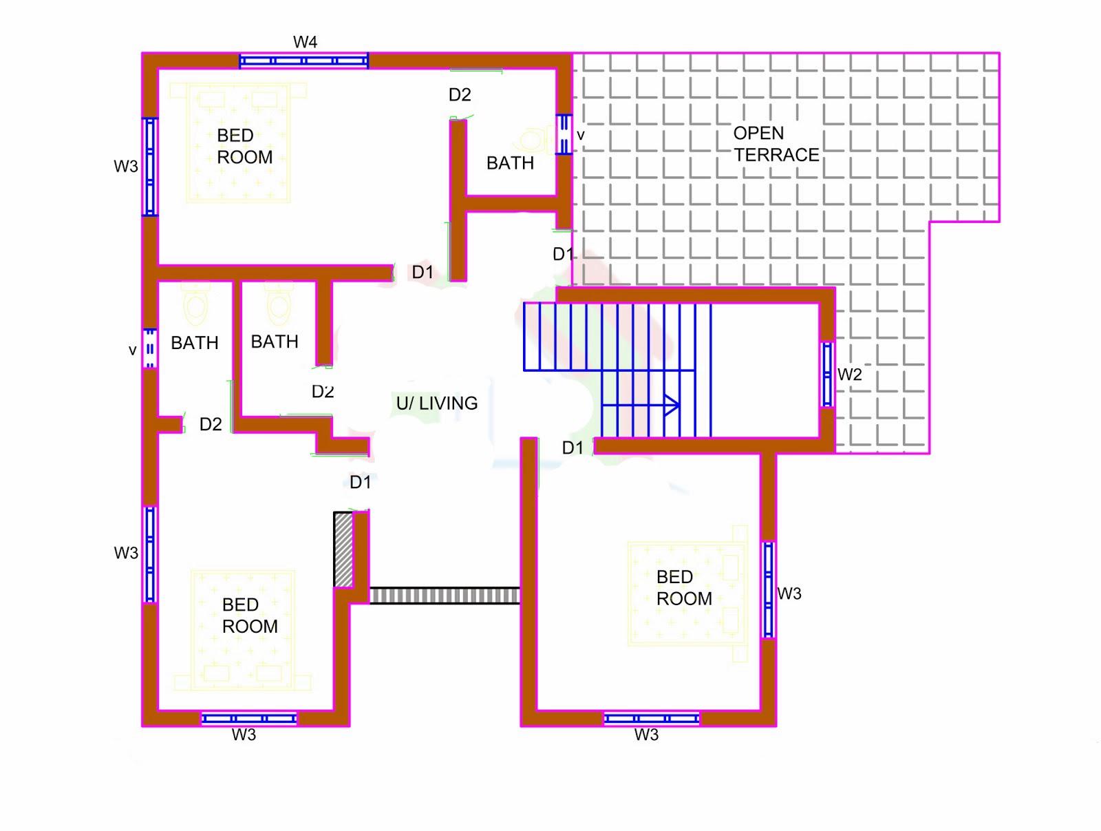 Front Elevation Design For Ground Floor : Ground floor front elevation for house joy studio design