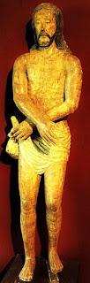 Cristo na Coluna, no Museu Diocesano de San Ignacio Guazu, no Paraguai.