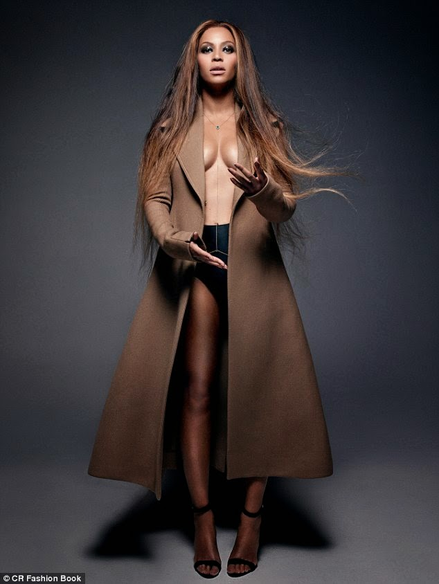 Chcek Out Beyonce's Unusual Photos From CR Fashion Book