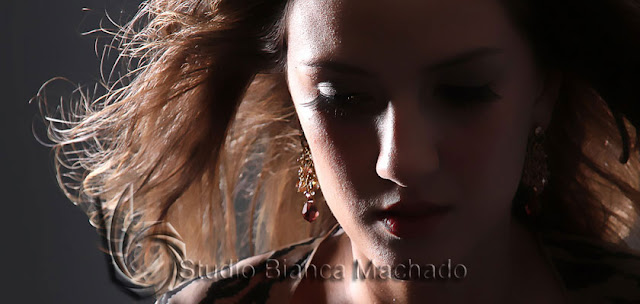 foto profissional modelo
