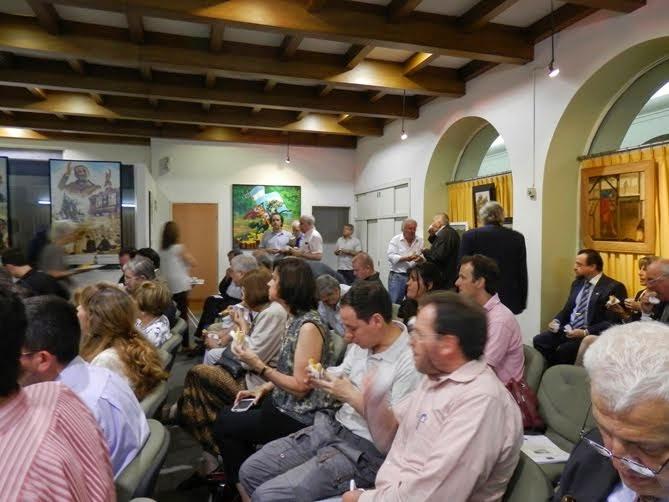 Aspecto del Encuentro de América Románica en Buenos Aires