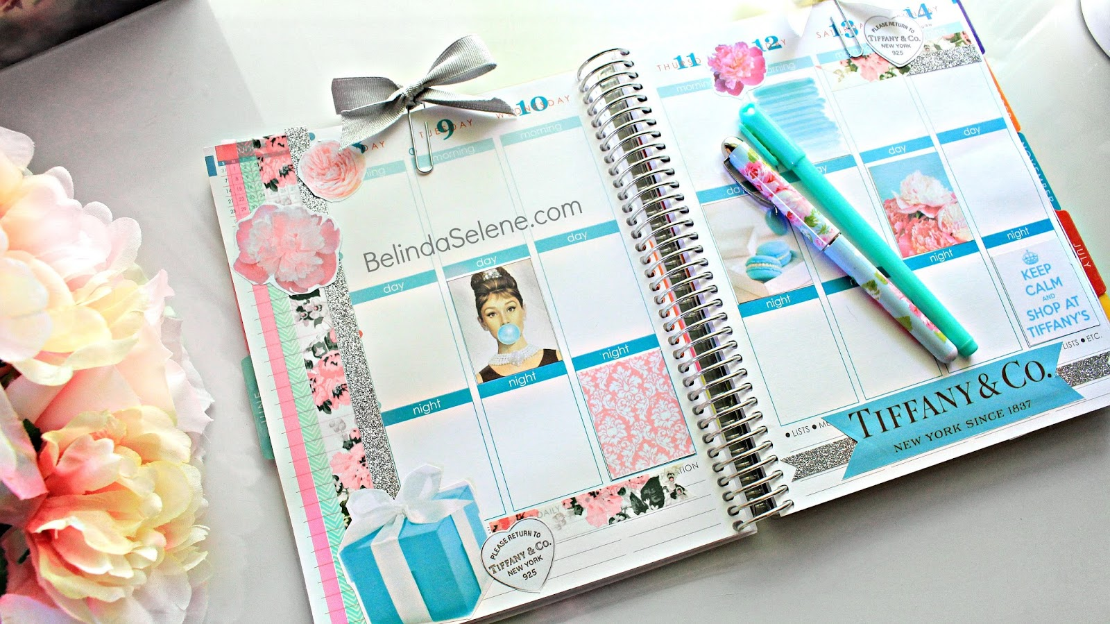 Belindaselene decorate your planner with me tiffany and for Designer planners