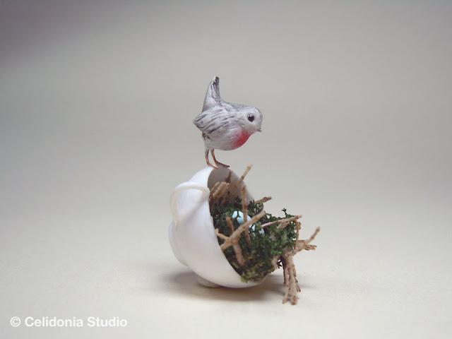 robin's nest by celidonia