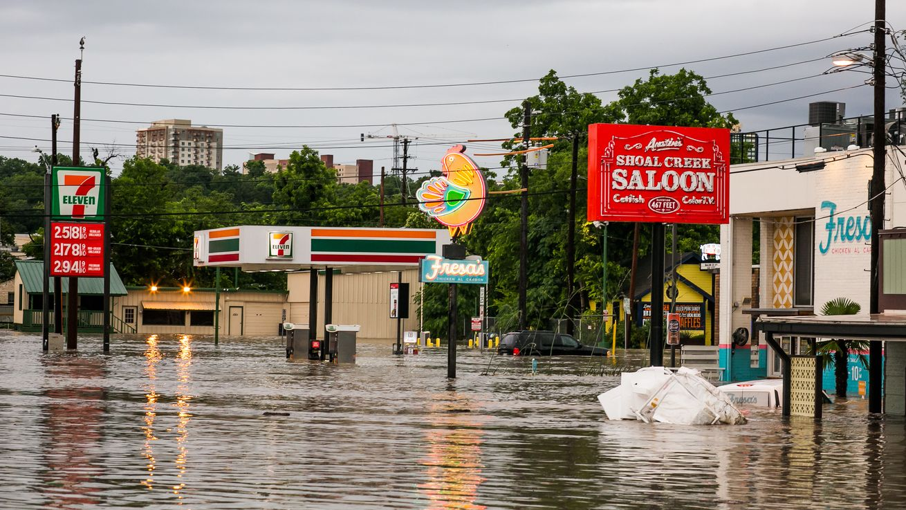 Half of a years rainfall in one day shatters Texas record: 2 dead with more missing after...