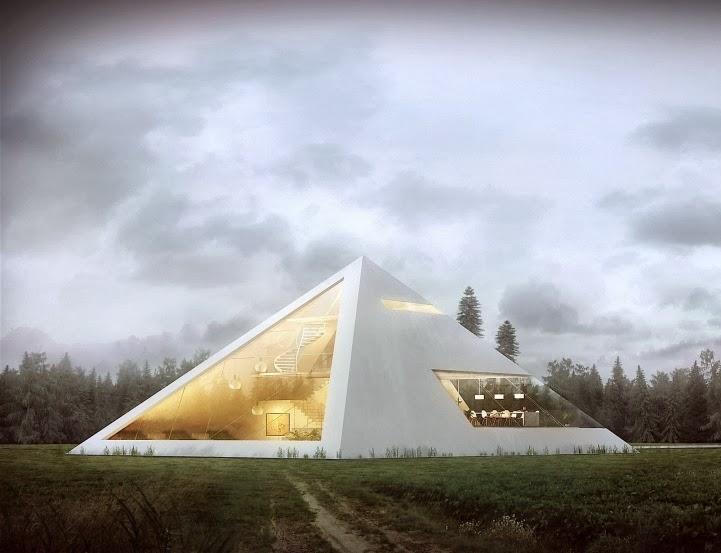 Arquitectura creativa, Casa Pirámide de Juan Carlos Ramos