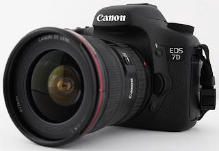 Harga dan Spesifikasi Kamera Canon EOS 7D Lengkap Baru