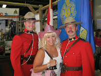 Mikki and Mounties