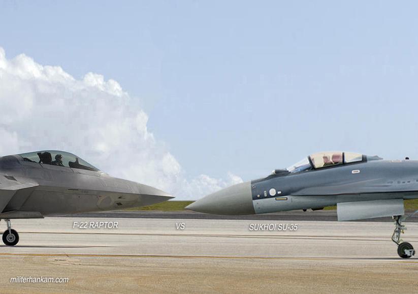 F-22 Raptor VS Sukhoi SU-35