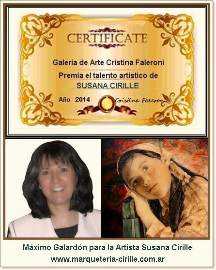 Premio a la web y a la trayectoria artística