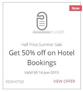 Half Price Summer Sale Offer