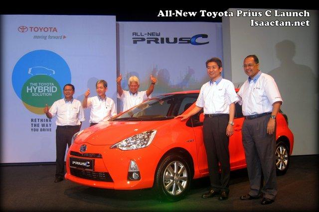 Toyota Prius C Launch Event