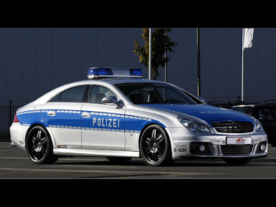 Brabus CLS V12 Rocket Police Car
