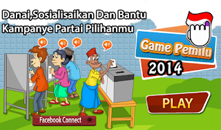 Game PEMILU 2014 Android