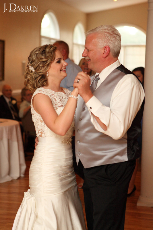 Father daughter first dance wedding photography