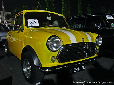 jogja classic autofest mr bean mini cooper