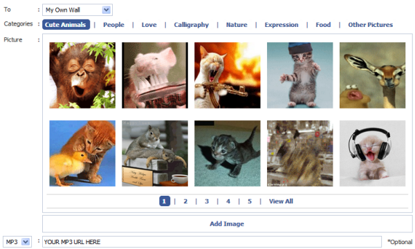 How to display an animated gif picture on your facebook your there are tons of apps on facebook to enhance your pages ability certainly including an app to enable you to post animated gif images to your facebook negle Gallery