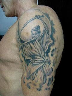 Fotos de Tatuagens de Samurai