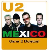 premios entradas gratis  U2 concierto Estadio Azteca  promocion ticketbis Mexico 2011