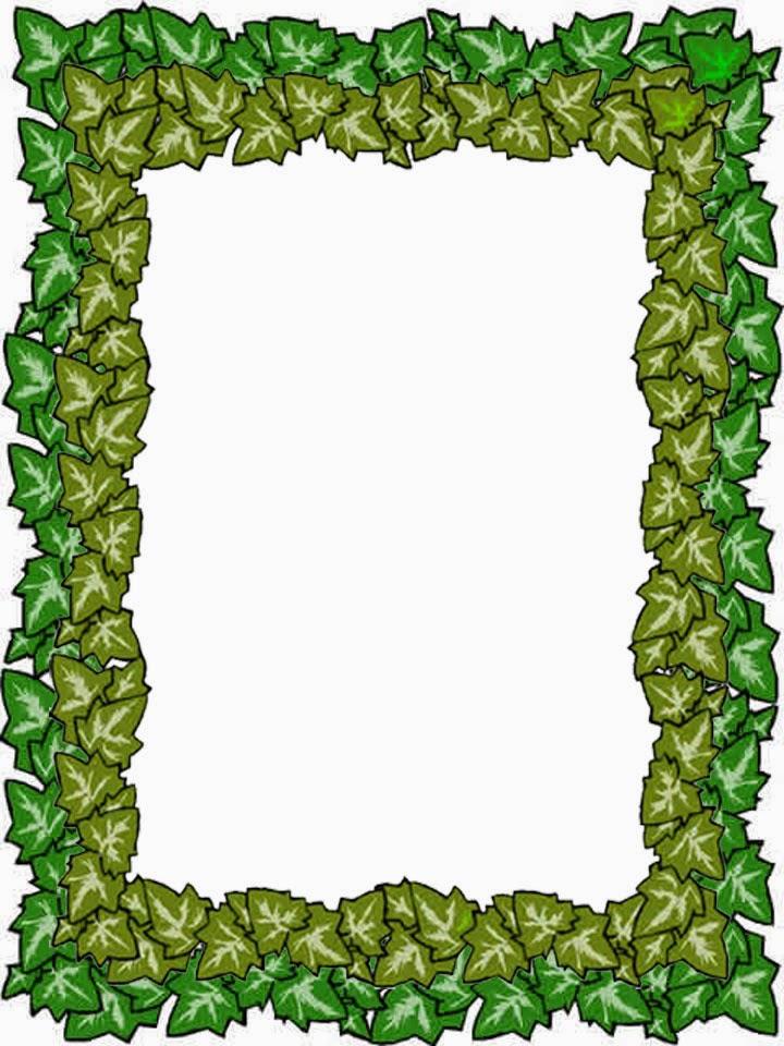 Caratulas escolares caratulas de hojas verdes for Modelo de proyecto de plantas ornamentales