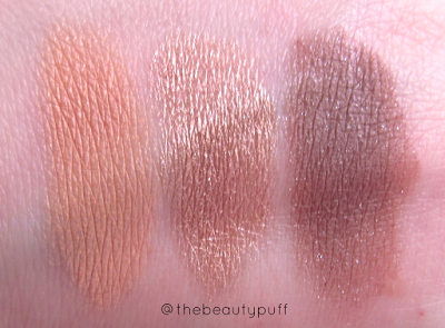 lauren brooke cosmetiques swatches - the beauty puff