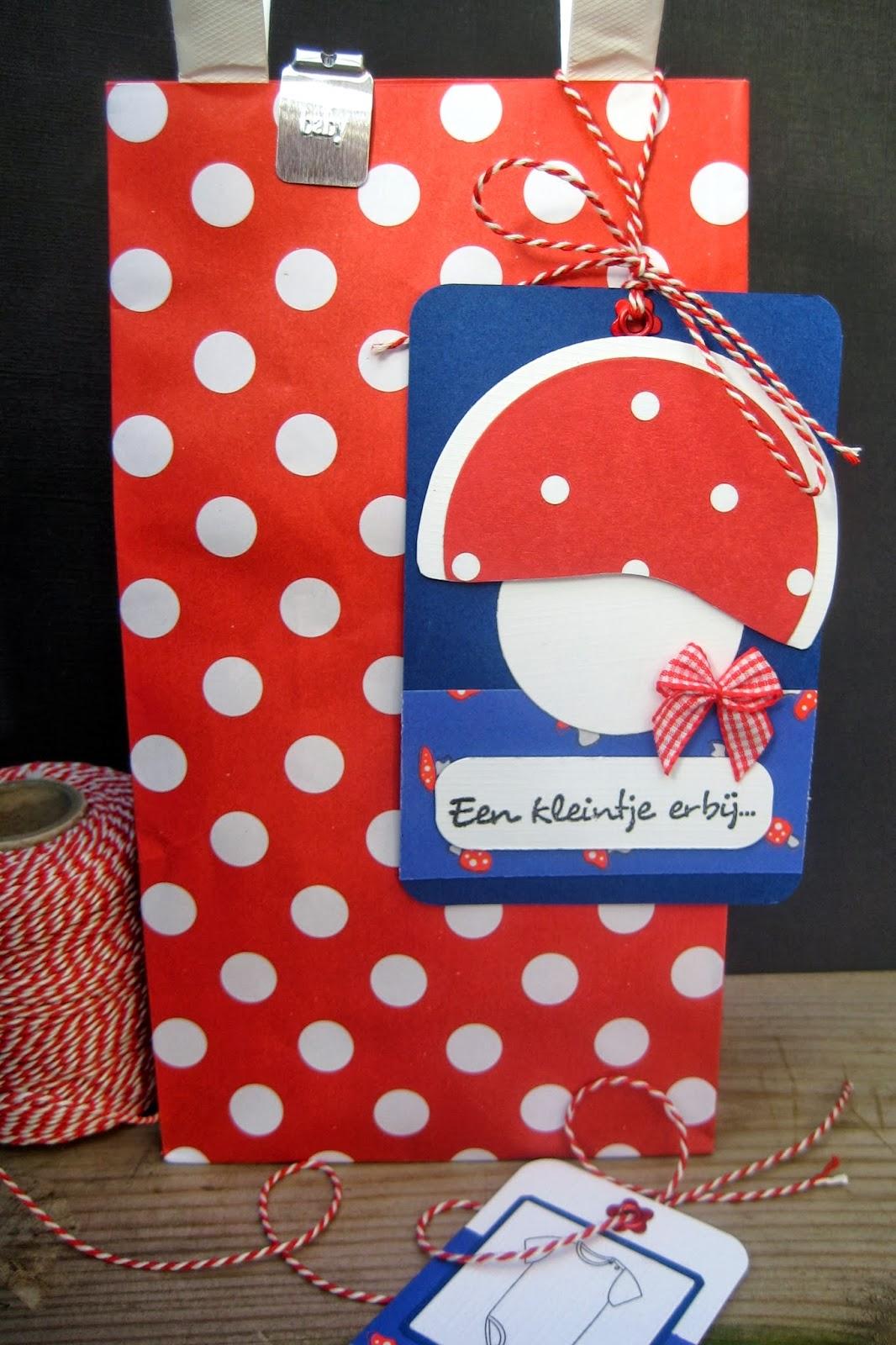 Crea spul van colien rompertjes for Hema cadeautasjes