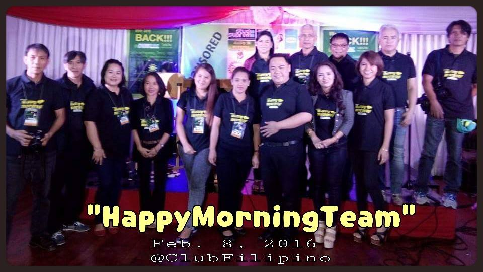 LAUNCHING OF HAPPY MORNING PROGRAM