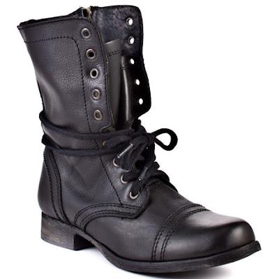Winter Footwear  Steve Madden Combat BootsSteve Madden Combat Boots Men