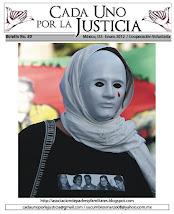 BOLETÍN CADA UNO POR LA JUSTICIA 30 / ENERO 2012